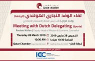 Meeting with Dutch Delegating (Sports)