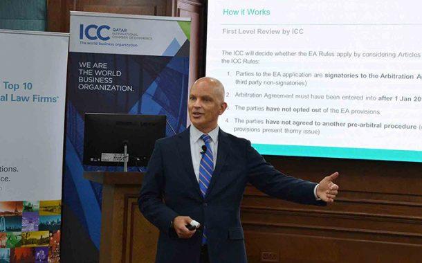 ICC Qatar hosts seminar on 'ICC Emergency Arbitration Provisions'