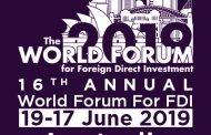 16th  Annual World Forum For FDI - Australia