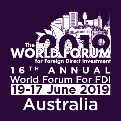 16th  Annual World Forum For FDI - Australia