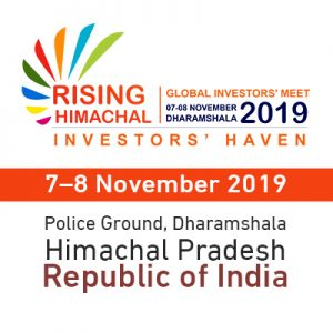 Global Investors Meet – Himachal Pradesh, Republic of India @ Police Ground, Jawahar Nagar, Dharamshala