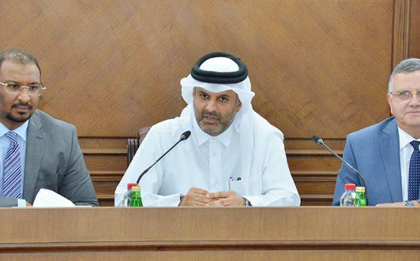 قطر الدولي للتحكيم يستضيف ندوة مع طلبة القانون بجامعة قطر