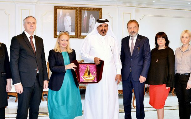 Qatar Chamber explores co-operation ties with Serbia, Kenya delegations