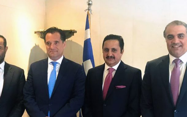 Sheikh Khalifa, Greek minister review co-operation ties