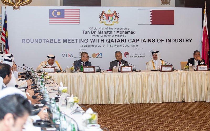 PM-Malaysia-Qatari-Businessmen-001