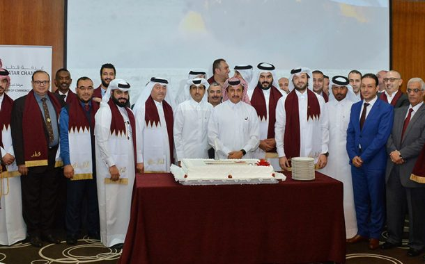 Qatar Chamber officials, staff celebrate National Day