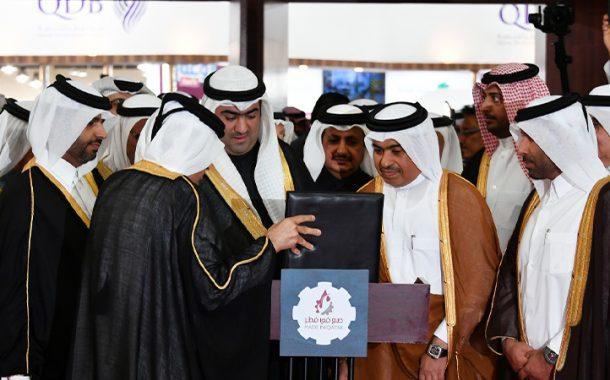 وزير التجارة ونظيره الكويتي يفتتحان معرض