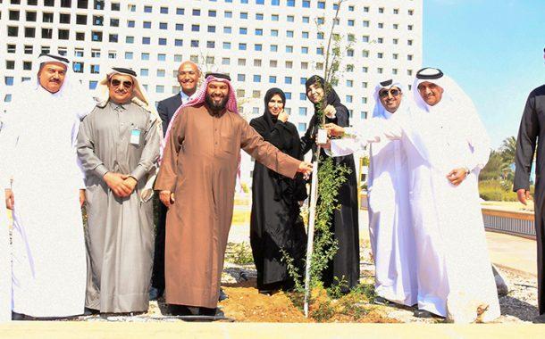 الغرفة تدعم مبادرة مؤسسة قطر (حديقة ونبات)