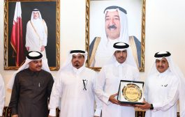 QC Chairman receives delegates of 'Made in Qatar' expo