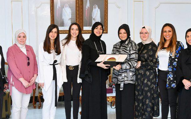 بحث التعاون بين سيدات الأعمال القطريات والأتراك