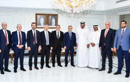 Qatar Chamber Holds Meeting with Turkish Parliament Delegation